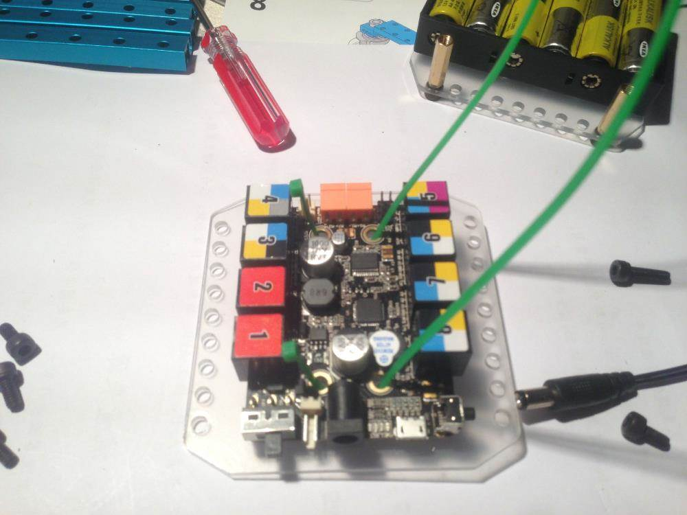 makeblock机器人小车搭建活动