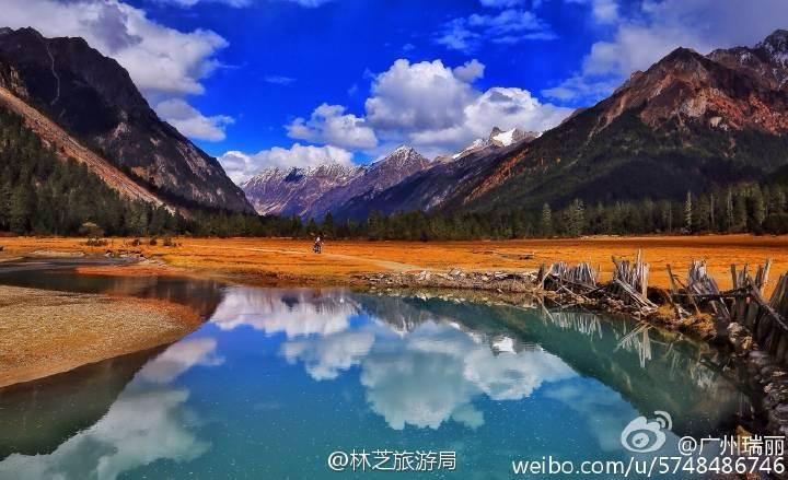 一带一路航拍,金秋十月相约最美西藏