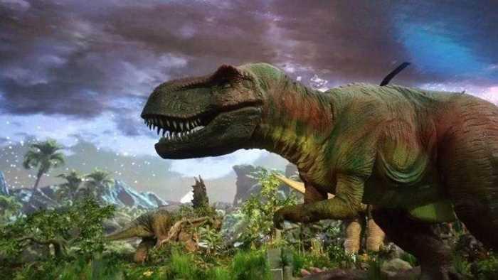 恐龙化��-a9��_全球唯一恐龙全景科幻演出《远去的恐龙》,八项世界纪录震撼上演!
