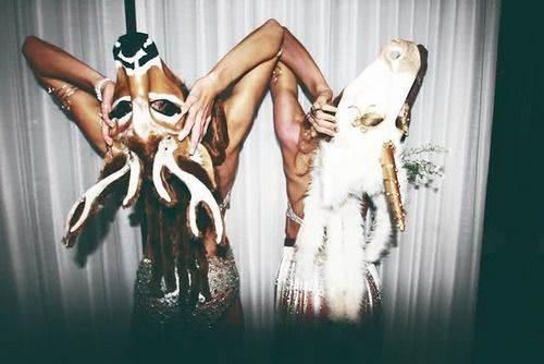 2016上海跨年倒计时活动魔幻动物主题化妆派对