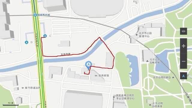 首都体院社区地图