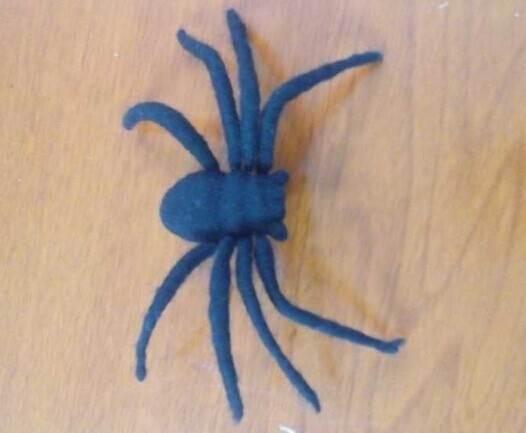 万圣节的小南瓜大蜘蛛—手工diy图片