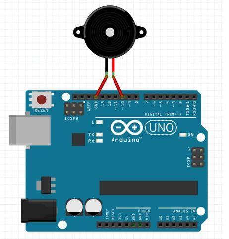 学习如何利用arduino 驱动蜂鸣器并让它变调