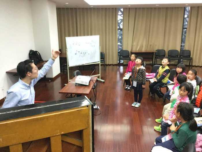 2017 爱上阿卡贝拉 儿童班体验课