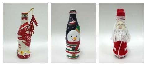 12月20日纷享团【创意diy彩绘瓶子】【圣诞特辑】图片
