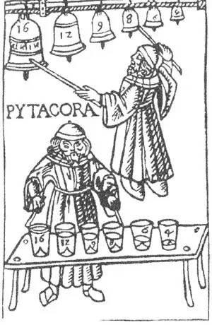 古希腊哲学家毕达哥拉斯热衷研究音阶图片