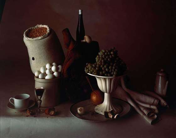 ? IRVING PENN, Still Life with Food, New York, 1947. Courtesy of Pace Gallery (New York, Palo Alto, London, Paris, Seoul & Beijing).jpg