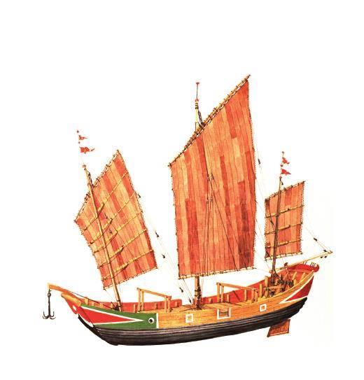 当年郑和下西洋就是中国造船及航海技术的见证