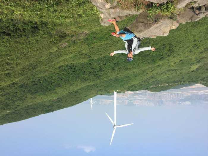 横琴岛拥有丰富的自然风能资源