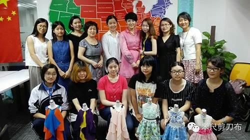 同时为服装设计业余爱好者提供优质课程与兼职机会.