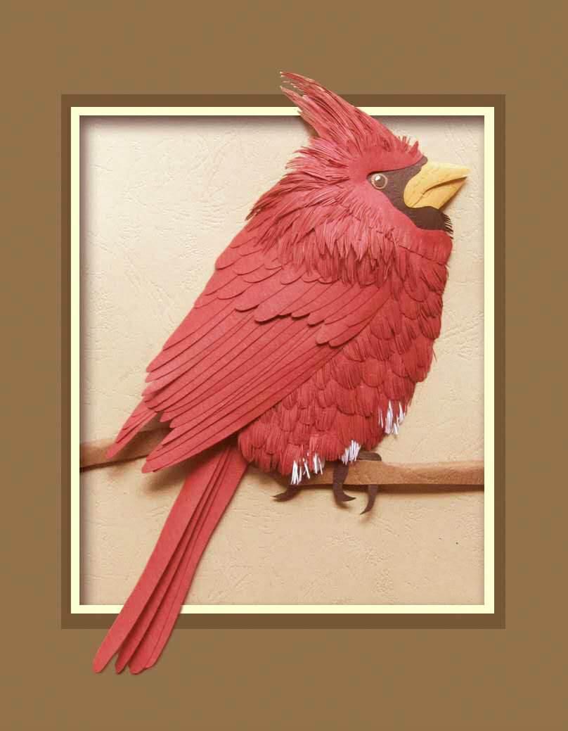 亲子立体剪纸招募:立体动物世界