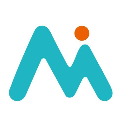 轻芒 app logo 矢量图