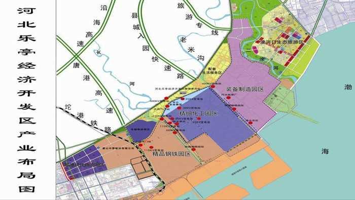 乐亭县城市规划图
