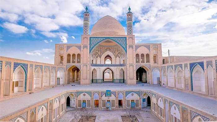 中东房屋手绘手绘