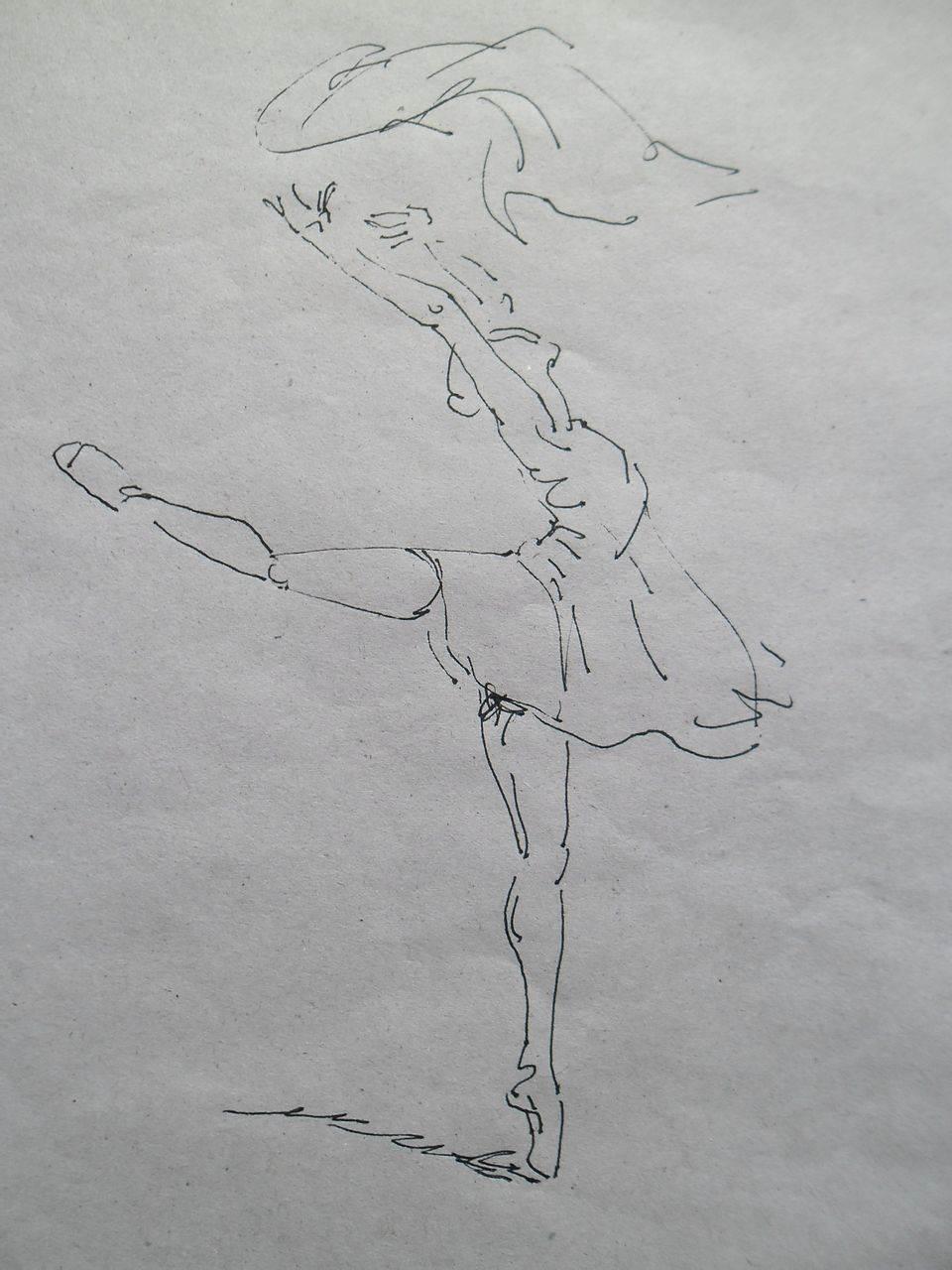 舞蹈简笔画图片大全