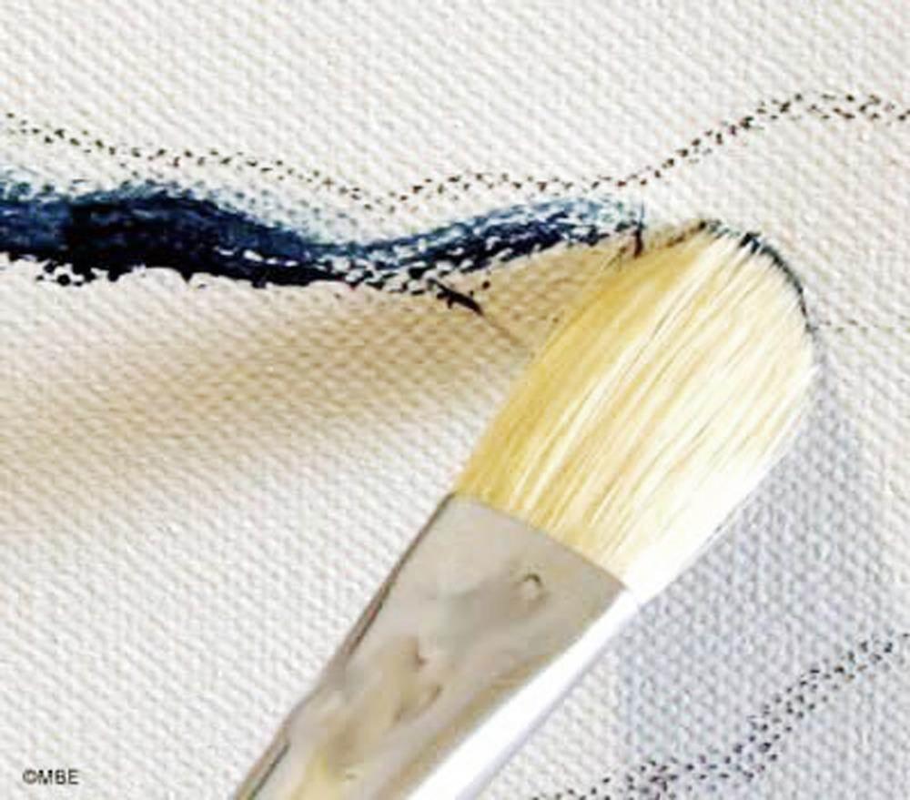 梵高《星空》油画workshop