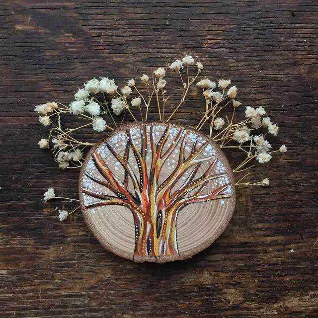 【29.9元零基础绘画】创意木头画,享受大自然的馈赠