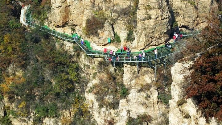 12日周六 平谷天云山:挑战玻璃栈道,挑战你的勇气