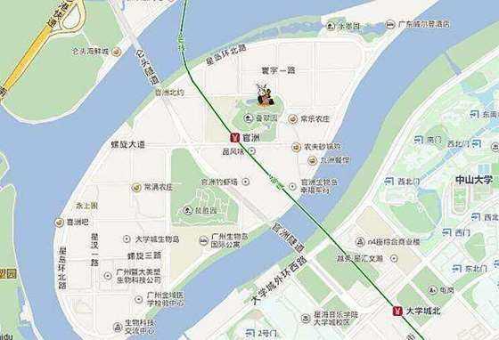 3月31日广州国际生物岛环岛骑行单身半日游