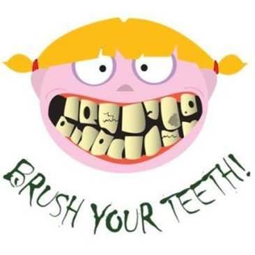 可是看   看我们的孩子,牙齿是不是都洁白,完整,健康呢?
