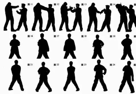 咏春拳所使用的招式,都是我们日常用于自卫自保的本能反应动作,既不图片