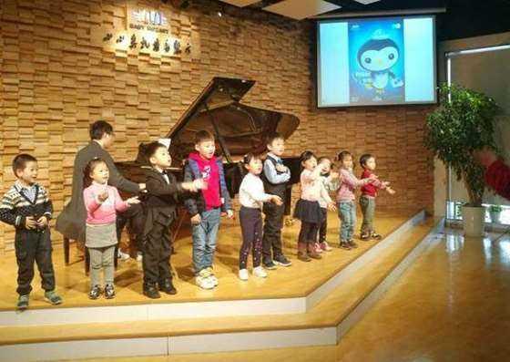 小小莫扎特故事音乐会现场互动