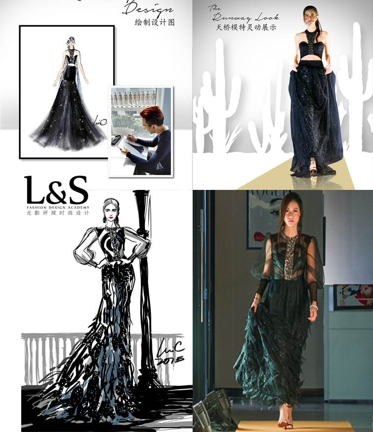 9.服装系列:通过制作过程,制作出多种服装款式成品.