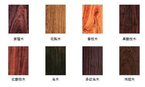 名贵木材大揭秘,木头什么的真的很简单