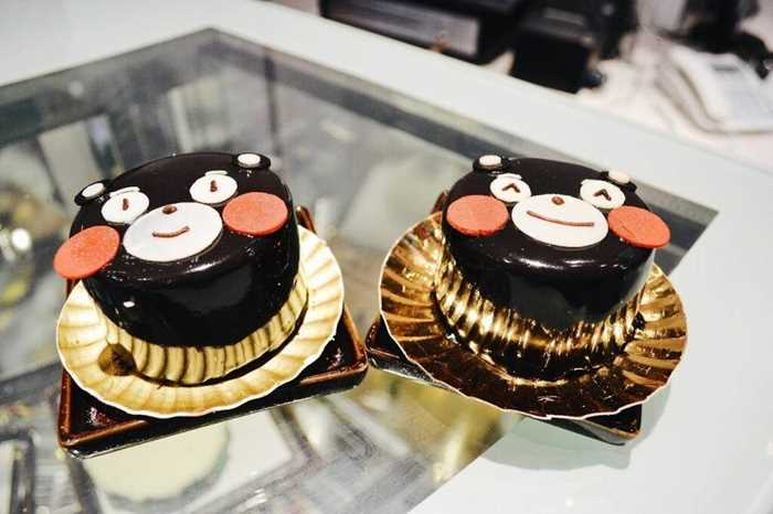 kumamon熊本熊主题蛋糕diy
