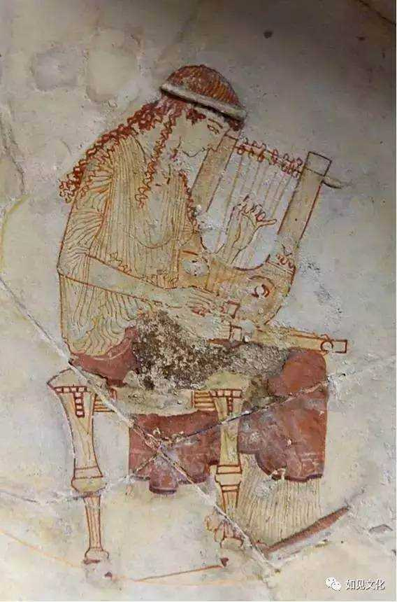 希腊文化分享·西方音乐的始祖古希腊里拉琴图片