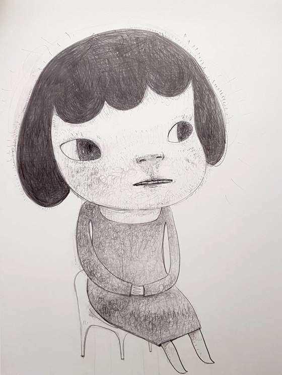 Young Mother年轻的母亲_51x36cm_2011_奈良美智Yoshitomo Nara_gaitubao_com_916x1215.jpg