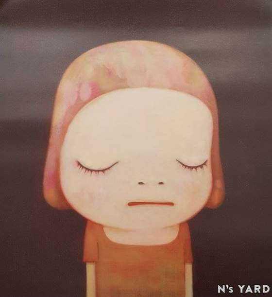 Dead of Night夜晚死亡_51x36cm_2016_奈良美智Yoshitomo Nara_gaitubao_com_567x619.jpg