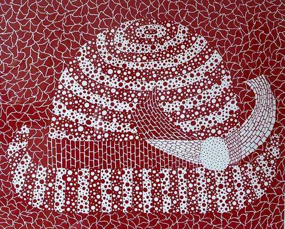 帽子Hat_ 55.2x68.7cm_丝网版画_ 1982.JPG