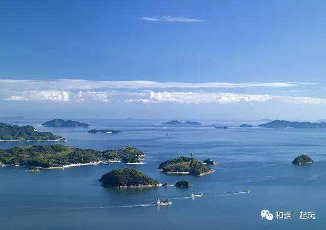 岛屿不仅有着与日本的都市风光截然不同的文艺风景,还有着各自的令人