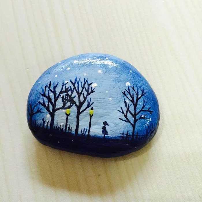 DIY彩绘石头