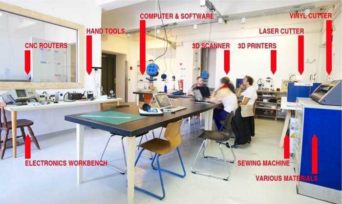 论学校创客空间的正确打开方式之镭射彩灯工作坊