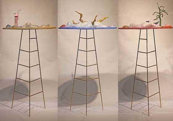 余普彪  梦系列  170×50×80cm×3件  雕塑  铜  钢  2016  1600.jpg