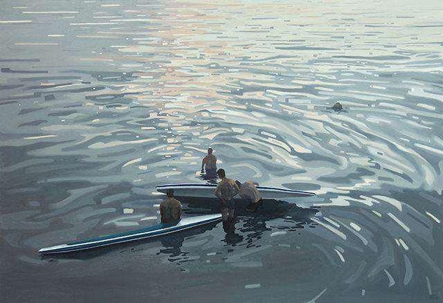 庄棪  时间的河  110×160cm  油画  布面  2019.jpg