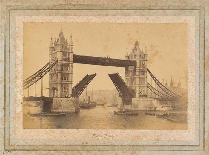 190 英国伦敦塔桥  19世纪80年代  英国.jpg
