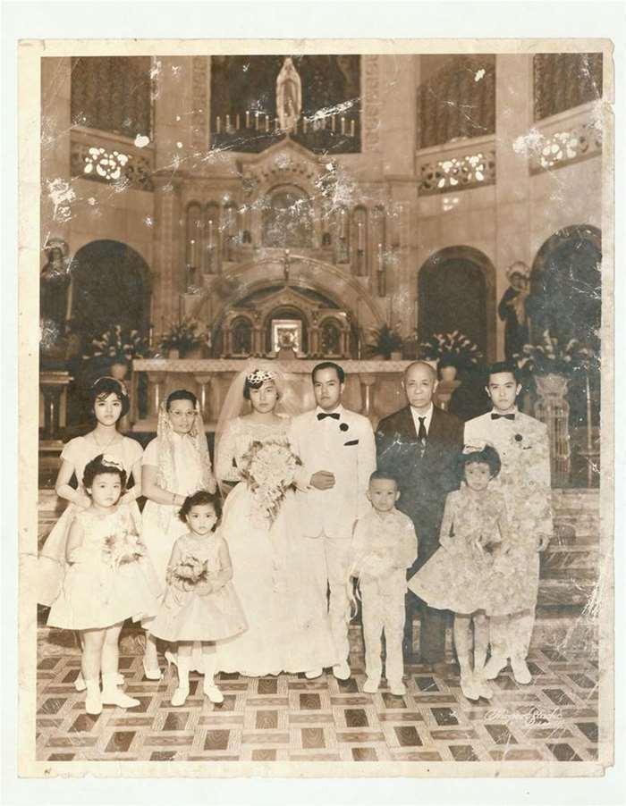 121 华人基督教婚礼  20世纪50年代  菲律宾.jpg