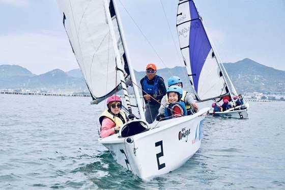 中国最美的风景帆船