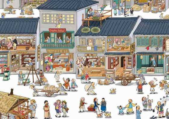 随后又陆续推出老广新游手绘系列:《广州手绘地图》,《广州城市记忆地