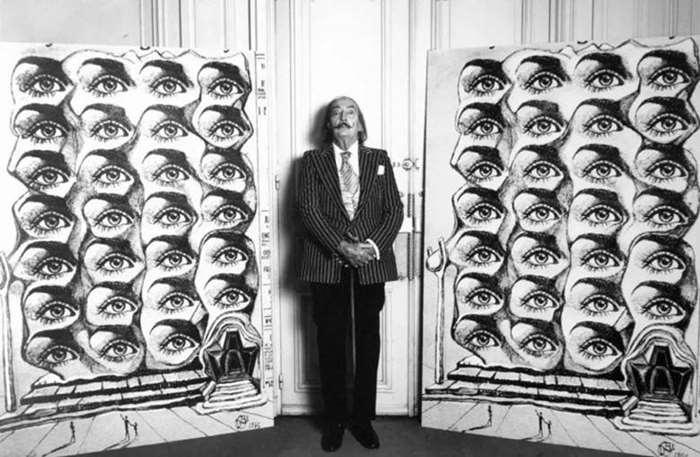 © LUC FOURNOL,Salvador Dali, 1970. Courtesy of Galerie Photo 12 (Paris &Los Angeles).png