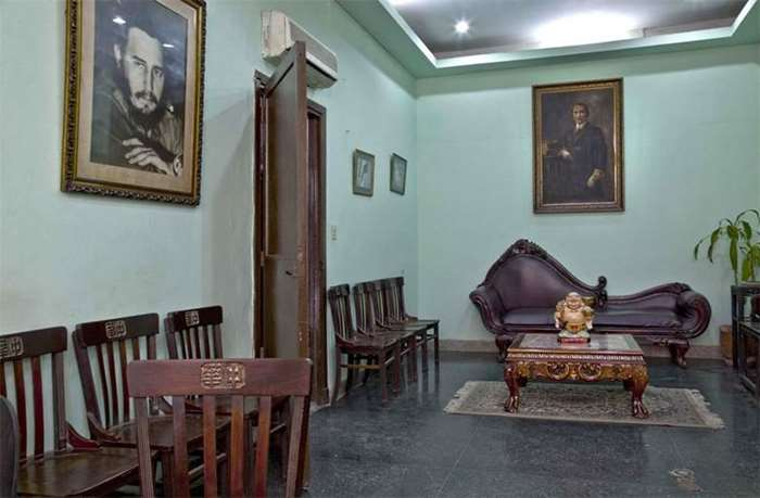 刘博智摄  哈瓦那中华总会馆  孙中山和卡斯特罗的肖像 2009.jpg