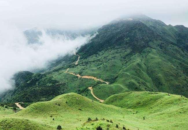 深圳五五户外大南山穿越