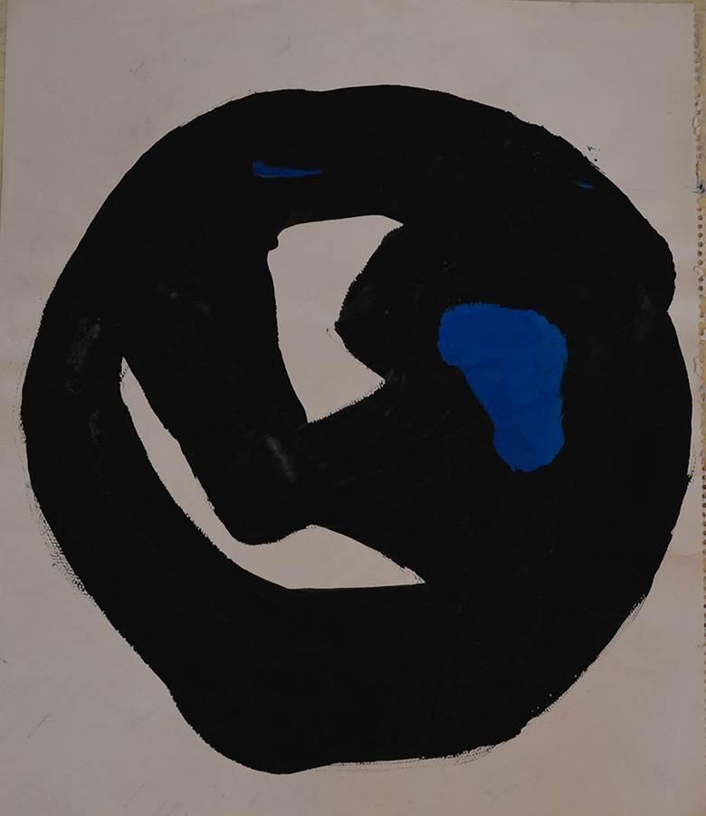 吉原治良 Jiro YOSHIHARA_NO.T0122_Acrylic on paper_44.5×37.0cm_1964~_m.jpg
