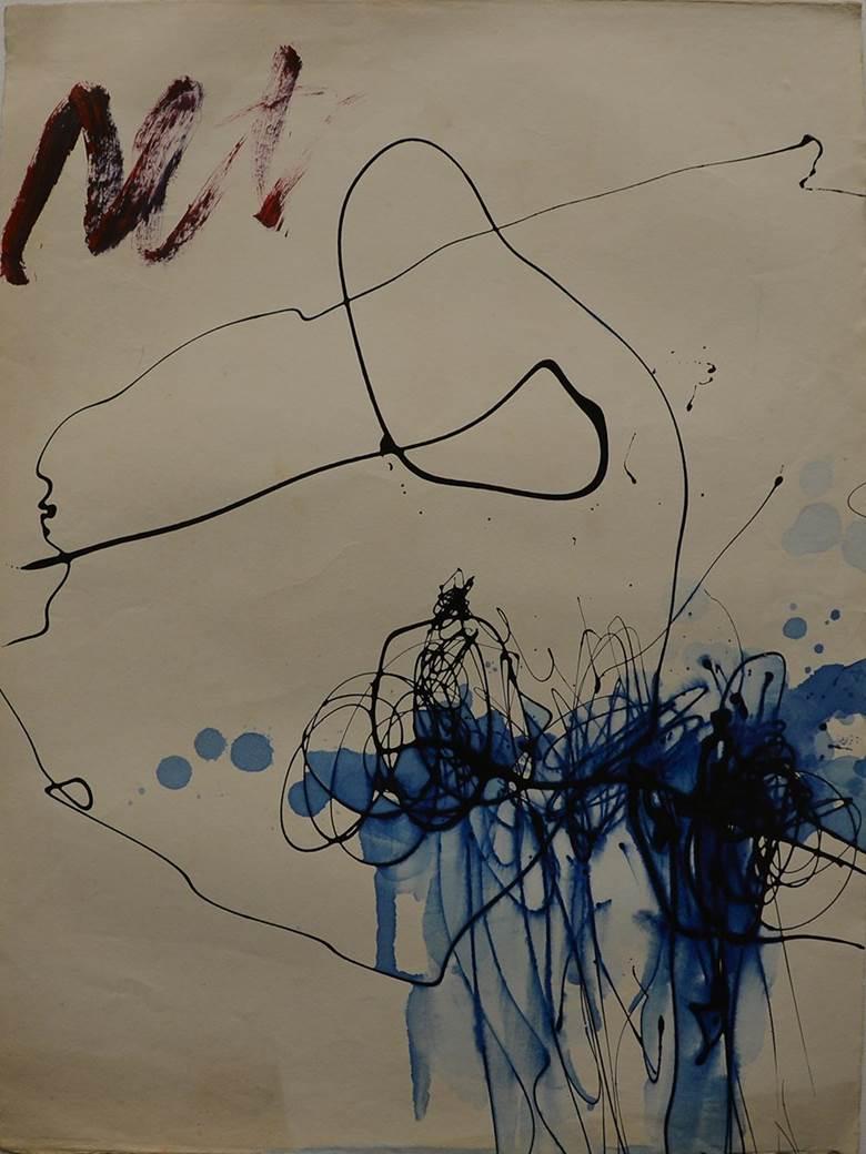 吉原治良 Jiro YOSHIHARA_NO.T0252_Pen on paper_76.0×56cm_1955~1965_m.jpg