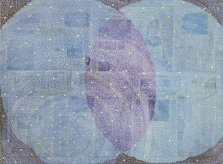 《河图200701》135x180 墨、茶、矿物质颜料、宣纸 - 小图.jpg