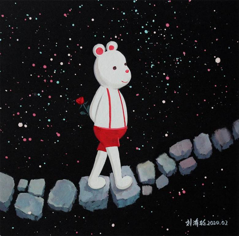 《踏在星石铺就的道路上》.jpg