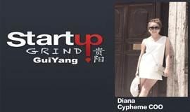 """创业磨坊贵阳·10月对话王艺婷Diana(贵阳local),赛纷科技""""Cypheme""""联合创始人·COO,一路创业到美国硅谷孵化器500Startups"""